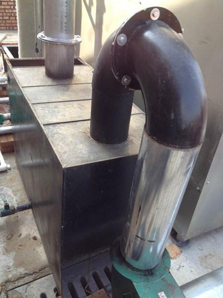 燃煤热风炉安装图